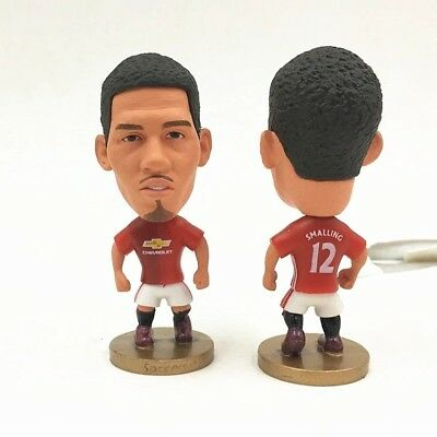 Chris Smalling Action Figure Soccer Football Manchester United Toy Cake Topper