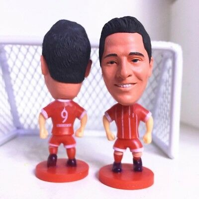 Robert Lewandowski Action Figure Soccer Football Bayern Munich Toy Cake Topper