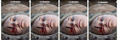 4x TRAGEDIES WAVE 2 GRAY DENISE CLOYD Walking Dead Card Trader Digital