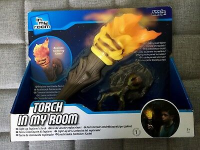 Uncle Milton Torch In My Room Wall Light Light Up Explorers Torch BNIB