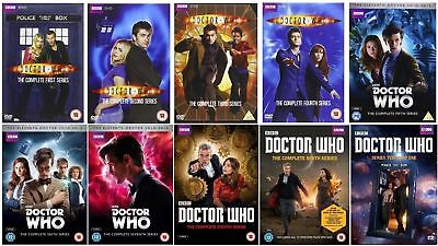 NEW! Doctor Who: The Complete Series Season 1-10 Part 1 & 2 (DVD Collection Set)