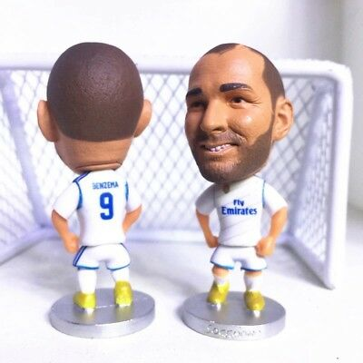 Karim Benzema Action Figure Soccer Football Real Madrid Toy FIFA Cake Topper UK