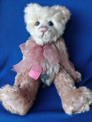 """Charlie Bears  Isabelle lee """"Priscilla""""  Very rarely on ebay"""