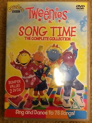 Tweenies Song Time Collection DVD