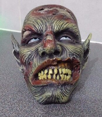 Nemesis Now Zombie Head Skull