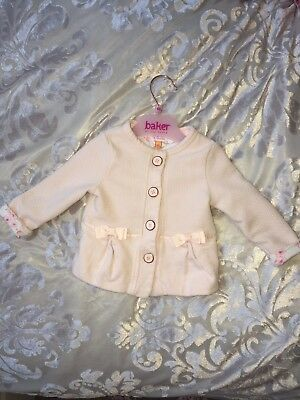 Baker By Ted Baker Baby Girl Jacket 6-9 Months