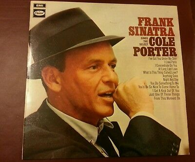 Two Frank Sinatra LPs