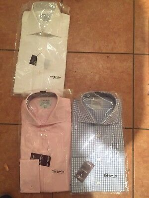 TM Lewin Shirts 15.5 Collar and double cuff