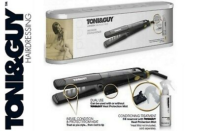 Toni & and Guy TGST2988UK 32mm Infusion Hair Straightener Iron Cermaic Plates UK