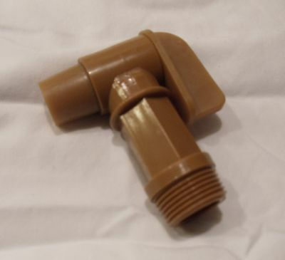 """NEW W/O PACKAGE IMPACT 3/4"""" SPIGOT Barrel and Drum Faucet FREE SHIPPING USA"""