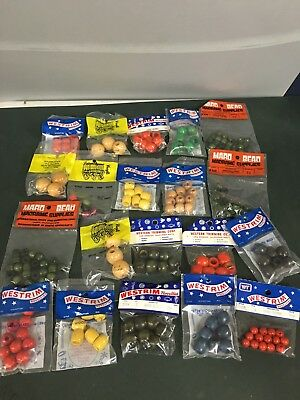 Lot Of 20 Packages Vintage Wood Beads- Crafting Beading Macrame SEALED Mixed Lot