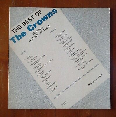 (The Best of THE CROWNS )-J7-LP