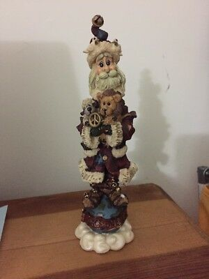 Boyd's Bears & Friends Folkstone Collection - Peacenick...the Sixties Santa