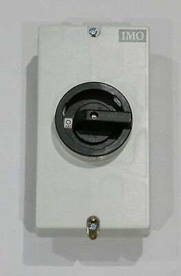 Brand New IMO SI12-PEL64R-2 DC Disconnect Control Switch Solar String 2 Pole 12A