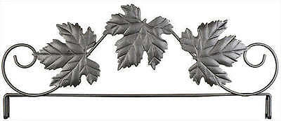 THREE LEAF QUILT HEADER, 12 Inch Silver Tex From Ackfeld Manufacturing NEW