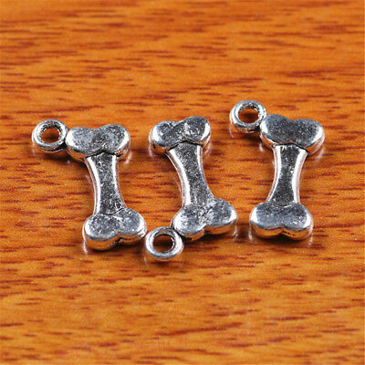 10 Piece 16*10mm Charms Dog Love Bone Tibetan Silver DIY Jewelry Findings 7241A