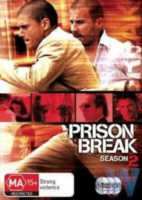 PRISON BREAK SEASON 2  Wentworth Miller  Sarah Wayne Callies  6-Disc Set  DVD  R