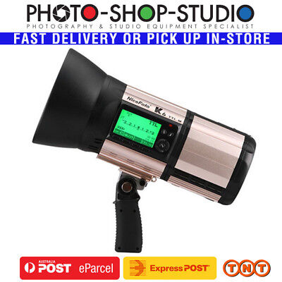 Nicefoto K6 600Ws Portable TTL High Speed Monoblock Flash 5500K +/- 200K