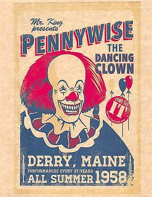 Stephen King IT > Mr King Presents Pennywise The Dancing Clown > Poster/Print