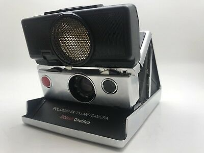 Polaroid Sx-70 Sonar Onestep Land Camera Tested