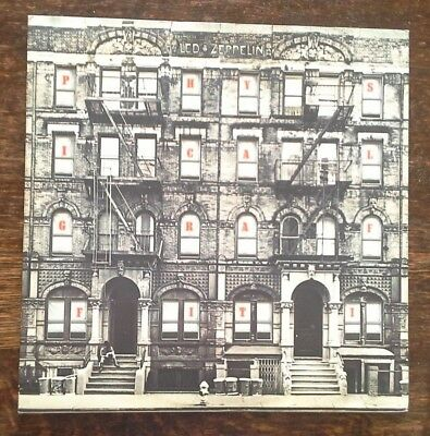 (LED ZEPPELIN-Physical Graffiti)-JAPAN-definitive heavy metal band-J7-2xLP