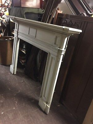 LARGE ANTIQUE AMERICAN 18th CENTURY AND OR EARLY 1800s FIREPLACE MANTLE MANTEL