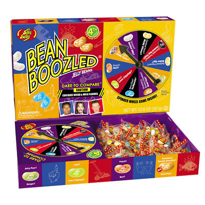 906216 Jelly Belly Bean Boozled 4Th Edition Giant Spinner Game! Jelly Beans Inc.