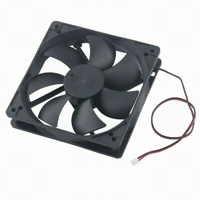 Gdt 120mm 25mm DC 12V 0.45A 100CFM Ball Cooling Fan  Computer Case Fan 120x25mm