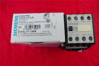 1PC   New Siemens contactor  3TH4271-1XB4 DC24V