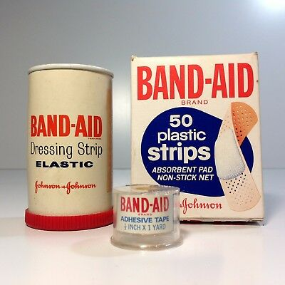 Lot of Vintage BAND-AID Packaging