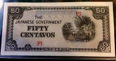 The Japanese Govermet (50) FIFTY CENTAVOS PI