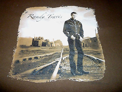 Randy Travis Tour Shirt ( Used Size L ) Very Nice Condition!!!