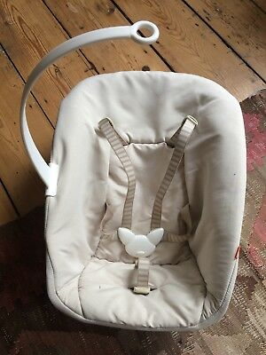 Stoke Tripp Trapp Newborn Set in natural colour, used in excellent condition