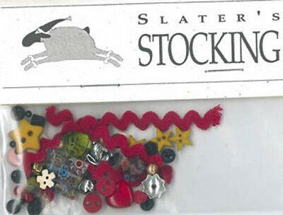 Slater's Stocking Charm Pack Embellishments Shepherd's Bush