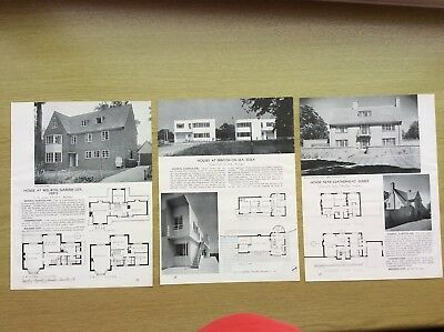 1937 1938 houses at kingswood surrey farnborough park for Home extension design welwyn garden city