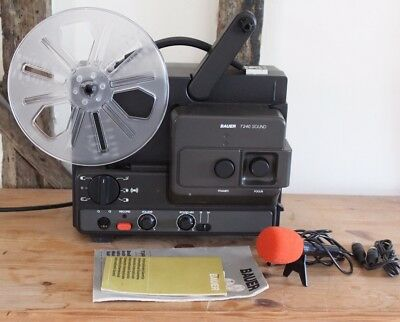 Bauer 8mm T240 Sound Projector Boxed