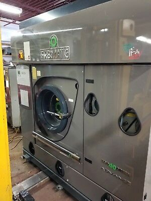 used drycleaning machine hydrocarbon 40 pound firbimatic hydro,filters still