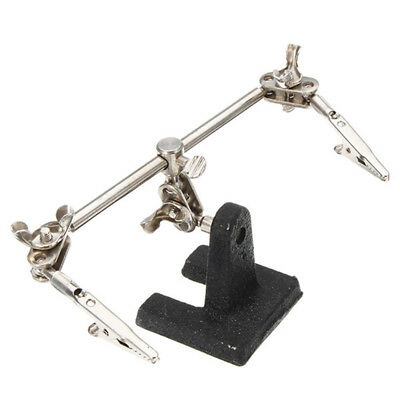 DIY Hands Free Clip Helping Clamp Tool PCB Holder Electrical Circuits Hobby