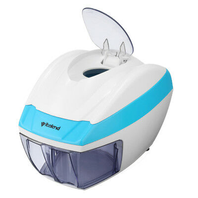 Electric Ice Shaver Slicer Crusher Ice Crasher Cube Flake Shaved Snow Home autom