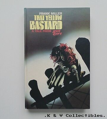 Frank miller that yellow bastard a tale from Sin city, Hardcover, 1st edition