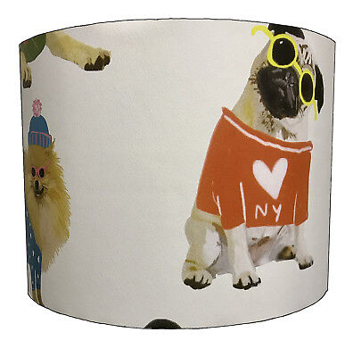 Pug Dogs Lampshades Ideal To Match Pug Dogs Wallpaper Pug Cushions & Pug Duvets.