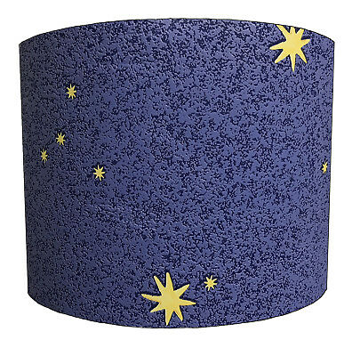Glow In The Dark Star Lampshades Ideal To Match Glow In The Dark Star Wallpaper.