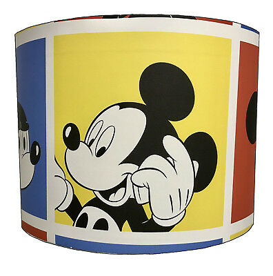Mickey Mouse Lampshades Ideal To Match Mickey Mouse Wallpaper Mickey Mouse Duvet