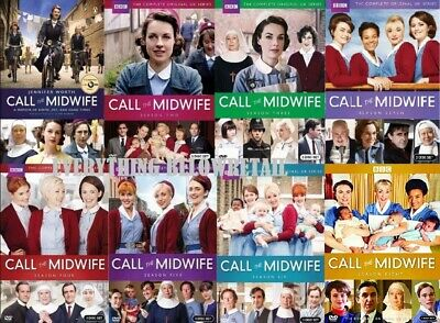Call the Midwife: Complete Series Seasons 1-7, Seven DVD -Free Shipping! New!
