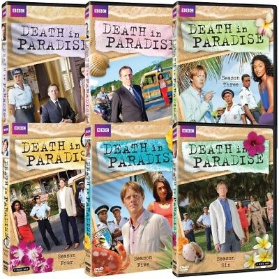 Death in Paradise Complete Series 1-6 Seasons 1 2 3 4 5 6 Six (DVD BBC) NEW!