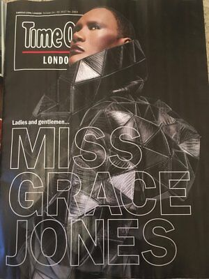 Time Out London Magazine October 2017 Grace Jones Armie Hammer