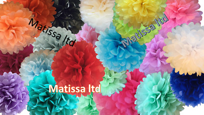 Tissue Paper Pompom hanging decoration wedding party birthday celebration
