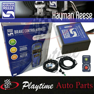 Hayman Reese Remote Compact IQ Electric Brake Controller With 30A Wire Harness