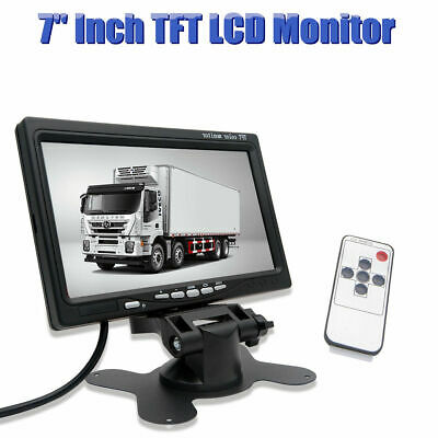 """7"""" inch TFT LCD Color Car Rear View Headrest Monitor For Car Reversing Camera"""