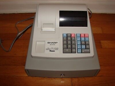 Sharp XE-A110 Electronic Cash Register, still in Original Box.